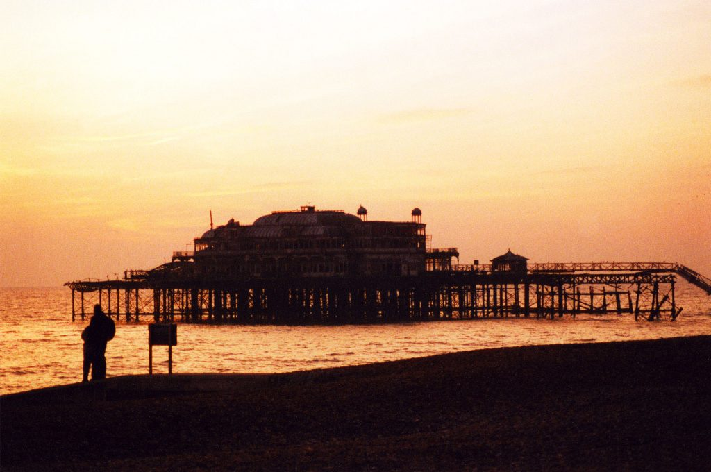 The West Pier, Brighton, England