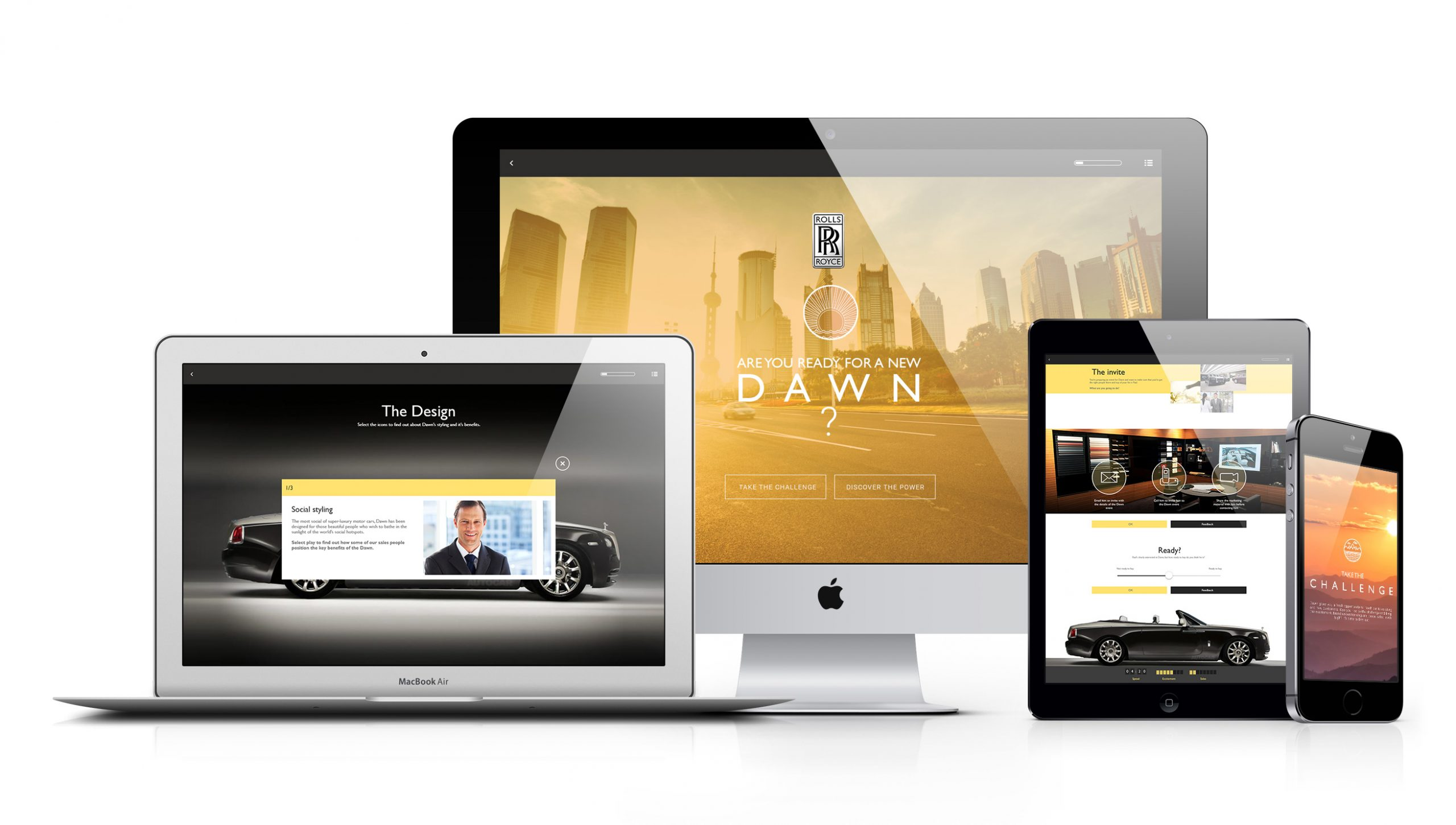 Rolls Royce elearning project devices