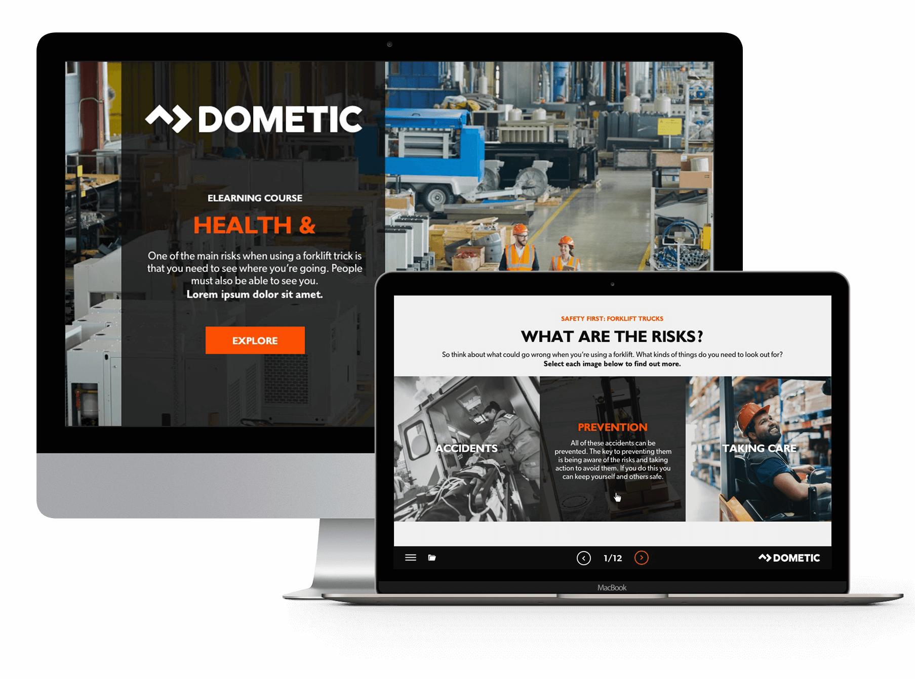 Dometic elearning project devices
