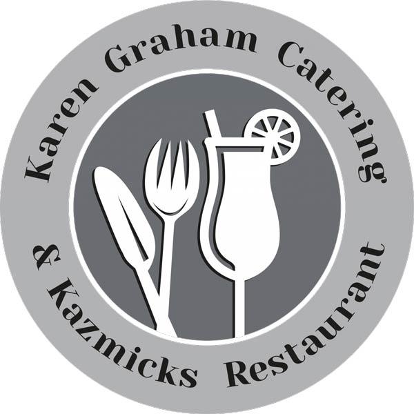 Karen Graham Catering & Kazmicks Restaurant work logo