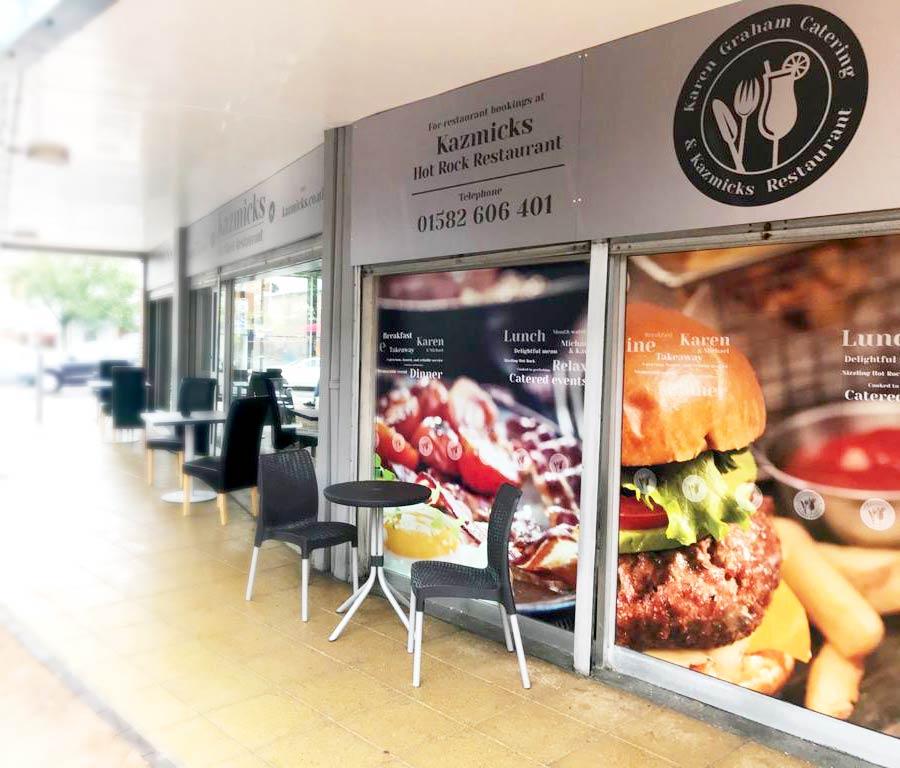 Karen Graham Catering & Kazmicks Restaurant project work image