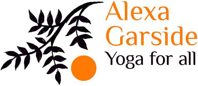 Alexa Garside Yoga for all project work logo