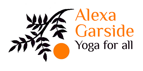 Alexa Garside Yoga for all project client logo